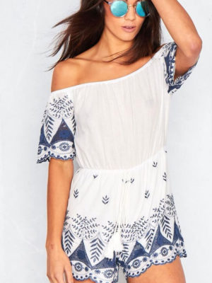 China Playsuit   Wardrobe Boutique Bacup