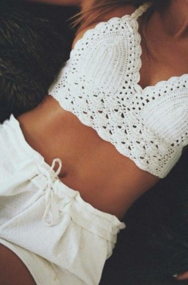 Crochet Bralet | Wardrobe Boutique Bacup