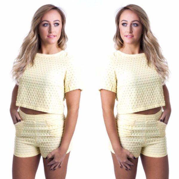 Lemon Squeeze Two Piece | Wardrobe Boutique Bacup