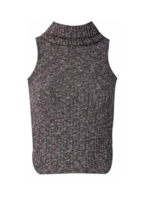 Ribbed High Neck Top | Wardrobe Boutique Bacup