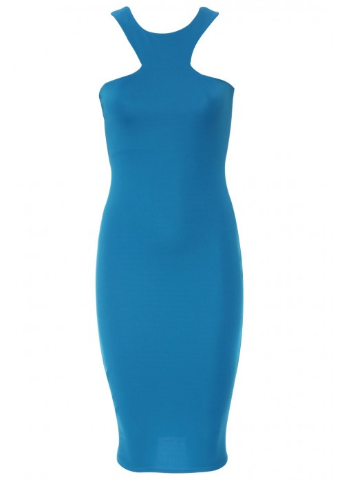 Racer Front Midi Dress | Wardrobe Boutique Bacup